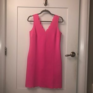 Bright pink Lilly Pulitzer dress!